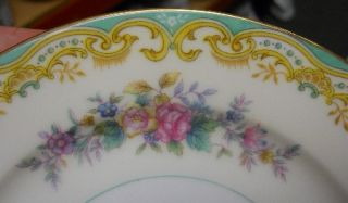 Noritake China Delta Pattern Salad Plate Pre 1930