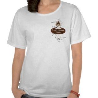 Custom Wedding Cake Modern Dot Stripe Swirls T Shirts