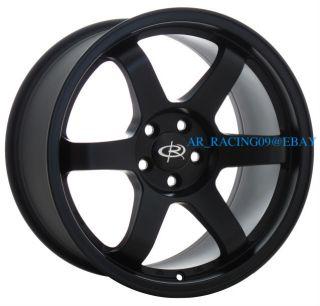 17 Rota Wheels 17x9 Grid FBK 02 03 04 05 06 07 08 WRX