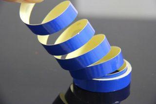 10 mm Pin Stripe Blue Reflective 3 8 Trim Tape Striping Vinyl Car