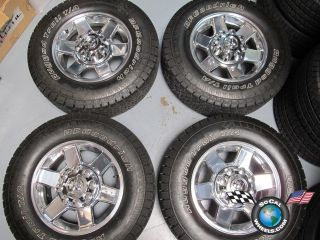 Dodge Ram 2500 3500 Factory 17 Wheels Tires OEM Rims 2383 1QR35TRMAA