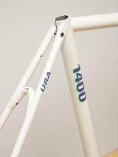 Trek 1400 Easton E9 Aluminum Road Bike Frame Fork EXTRAS USA Made 54cm