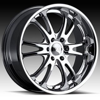 22 x9 5 Boss 313 3130 Super Finish Wheels Rim 5 6 8 Lug