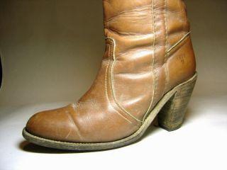 Excellent Gently Worn Frye High Heel Knee Boots Womens Size 9 B