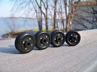 18 Set of 4 Ertl Red line Chevrolet Super Sport 5 Spoke Wheels & Tires