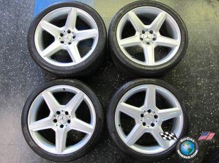 Mercedes MBZ CLS55 CLS63 CLS SL Factory 19 AMG Wheels Tires Rims OEM