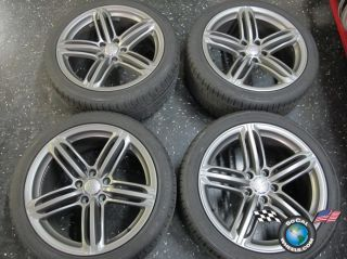 12 Audi Q7 C2Y Factory 21 Wheels Tires OEM Rims Touareg Cayenne 5886