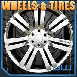 Escalade 24 inch High Polish wheels WITH TIRES GMC Chevrolet rims