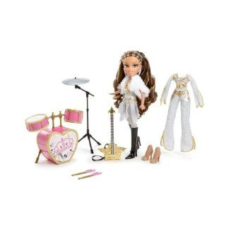 Bratz Girlz Really Rock Yasmin Doll Drums Guitar New