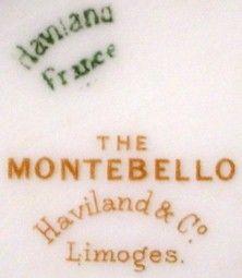Haviland China Montebello Schl 61 Oval Meat Platter