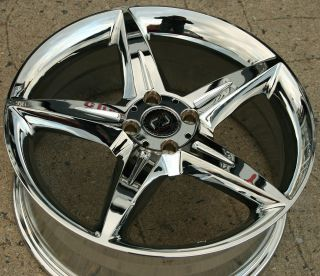 Ron Jon Servo 17 Chrome Rims Wheels Mini Cooper s 08 Up 4 x 100