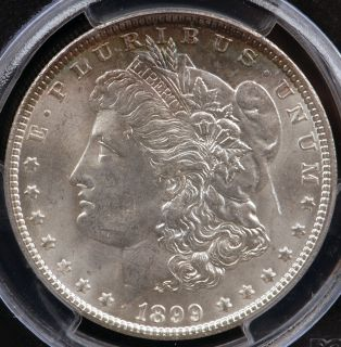 1899 O Morgan Silver Dollar PCGS MS63