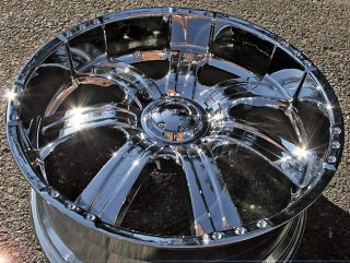 Incubus Poltergeist 501 22 Chrome Rims Wheels Toyota Sequoia 4 Runner