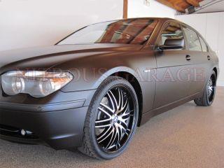 22 BMW Wheels 745 745i 745IL 750 750i 750iL Tires 760IL