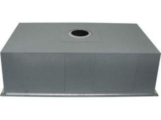 Stainless Steel Zero Radius Kitchen Sink Square 32