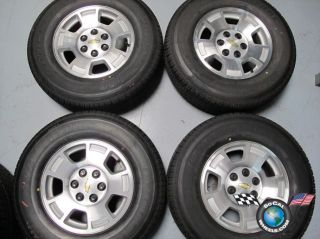 11 Chevy Tahoe 1500 Silverado Factory 17 Wheels Tires Rims 5299