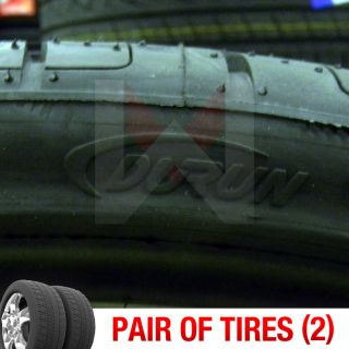 New 295/25R28 Durun Malta M626 Two Tires (1 Pair) 295 25 28 2952528