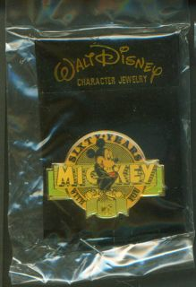 1987 Disney Mickey Sixty Years with You Pin
