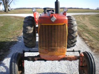 1963 AC Model D15 Series II with 6 Foot Snap Coupler Scrape Blade