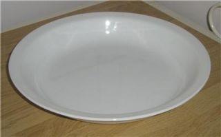 Vintage Corning Ware White 9 Pie Plate