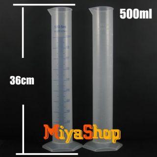 10pcs Plastic Measurement Liquid Measuring Tool Graduated Cylinder