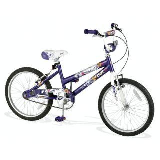 Rutland Cycles   20 WHEEL GIRLS SINGLE SPEED BIKE IN PURPLE NEW BOXED