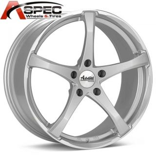 19 Advanti Racing Denaro Silver Wheel Fits Mercedes C230 C280 C350