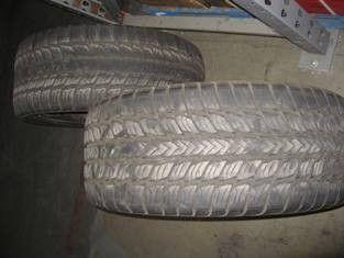 Goodyear 305 40R22 Fortera SL Tires 2 American Racing