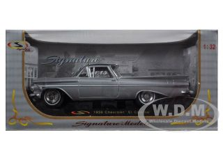 1959 Chevrolet El Camino Silver 1 32 Diecast Model Car Signature