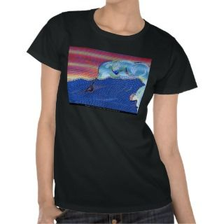 Windsurfers at Sunset © 2011 Warren Slater Tee Shirts
