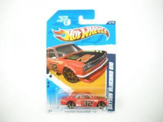 2012 Hot Wheels Datsun Bluebird 510 Faster Than Ever