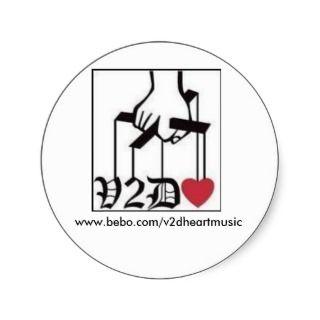 v2dheart familia, www.bebo/v2dheartmusic stickers