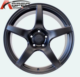 TEk UO08 BLACK 5X120 WHEEL FIT BMW Z3 Z4 X3 325I 328 330 335 1998 2013