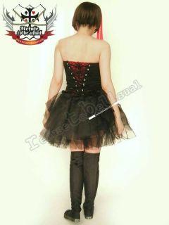 Thigh Hi Overknee Top Gothic Punk Rock Boot 8 8 5 BK 39