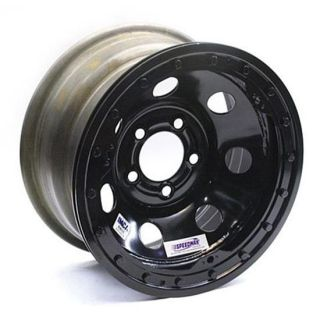 New Speedway 15 x 8 IMCA Black Wheel 4 Backspace Beadlock 5 on 4 3