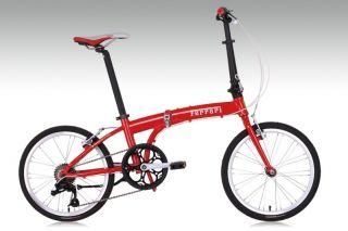 Ferrari Folding Bike 20 7 Speed Bicycle
