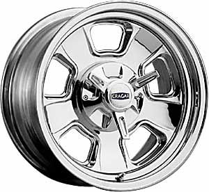 Cragar 3905105 15x10 Street Pro 390 Series Wheel
