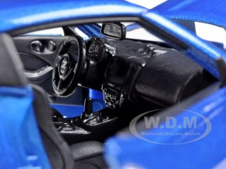 2009 Nissan 370Z 370 Z Blue 1 24 Diecast Model Car