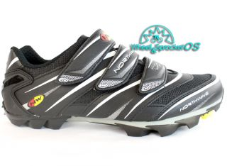 Northwave Lizzard SPD Mountain Bike Cycling Shoes 41 8 5 Black