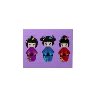 Kokeshi dolls puzzle