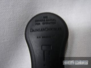 Chrysler Dodge Keyless Remote 04686481 GQ43VT17T Fr SH