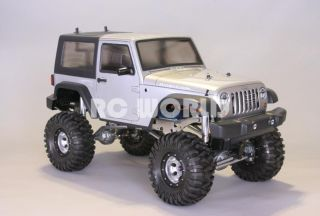 RC4WD 1/10 ROCK CRAWLER RC TRUCK JEEP WRANGLER RUBICON 2.4GHZ RTR 90%