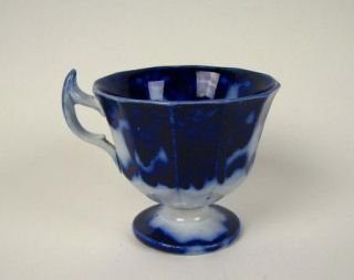 Cashmere Paern Flow Blue Syllabub or Punch Cup RARE Form 19h C
