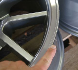 Mustang ® FR500 Wheels 18x9 18x10 Rims 18 inch Deep Dish FR500