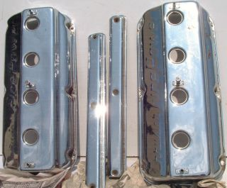 The valve covers have no pits, no cracks, and very good in my opinion.