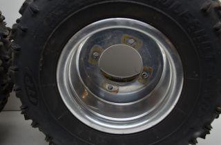 06 Suzuki LTR450 Rear Wheels DWT Beadlock Rims & 18 ITP Holeshot MXR6