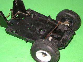 Vintage Cox Dune Buggy Parts C Rim Axles Wheels Chassis
