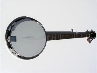 New High Quality 18 Bracket Pro 5 String Banjo w Mahogany Resonator
