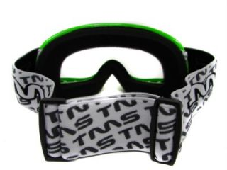 Youth Green Off Road Goggles Motocross Dirt Bike ATV MX