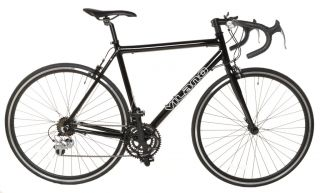 Aluminum Road Racing Bike Shimano 21 Speed Bicycle 58cm Black